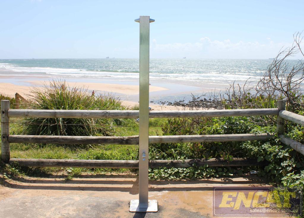 splish splash sally beach shower for sale from ENCAT