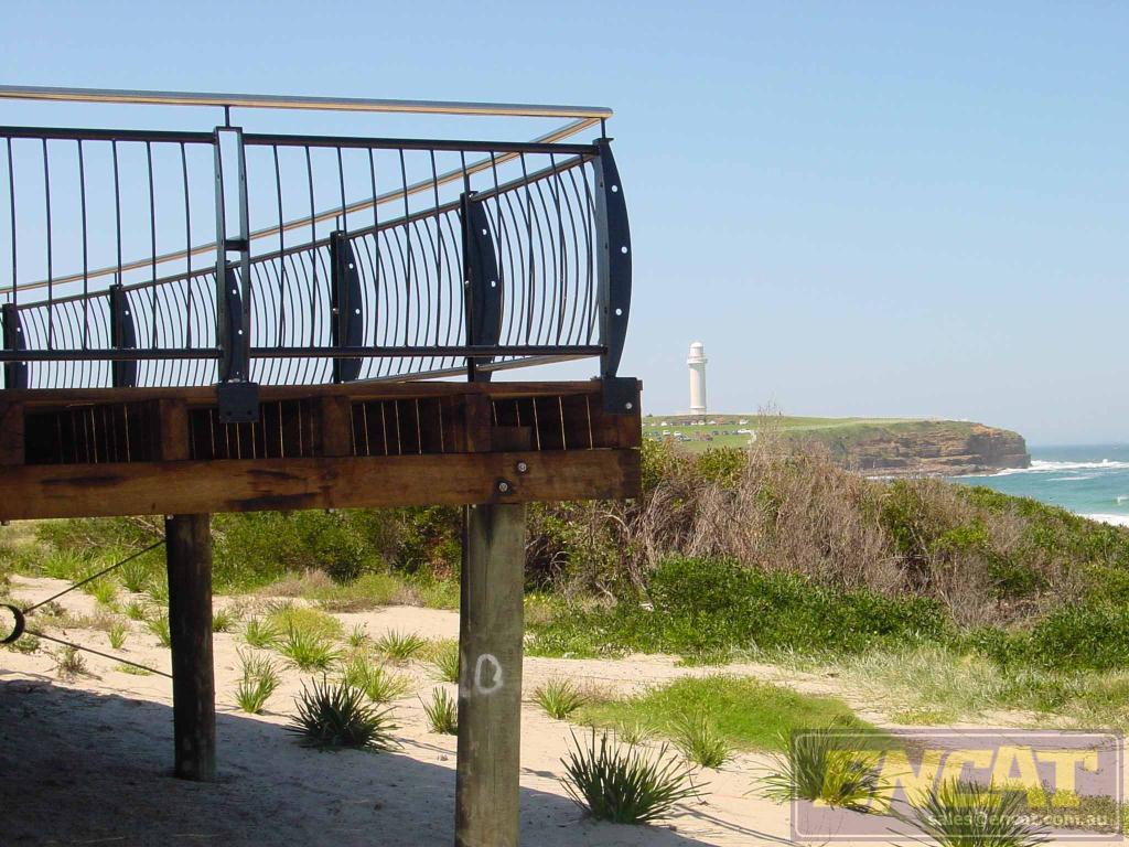 ocean wave handrail h