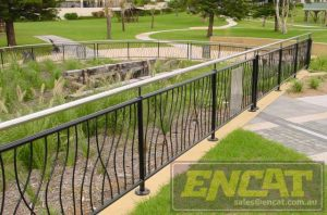 Reeds Outdoor Handrail designed and manufactured in Australia by ENCAT