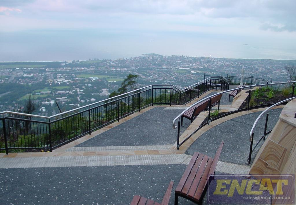 Select Outdoor Handrail designed and manufactured in Australia by ENCAT