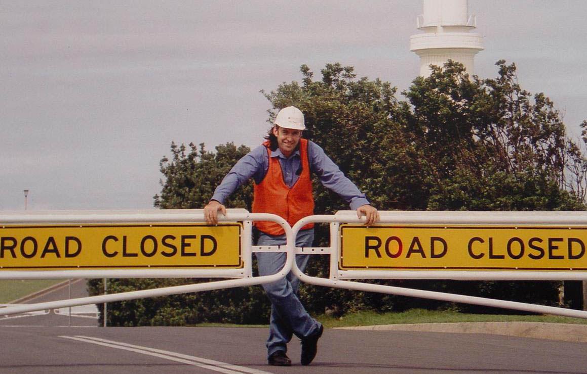 road gate a