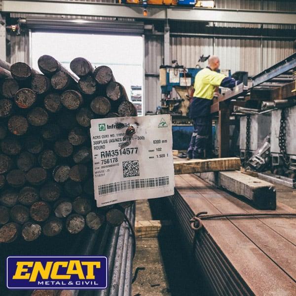 ENCAT Australian Manufacturer of Pedestrian fencing with factory in NSW using Australian steel