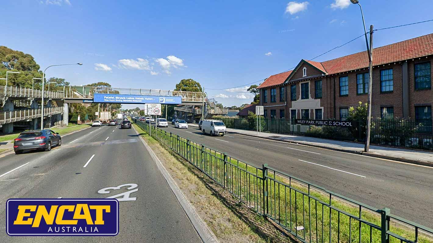 ENCAT RMS Type 5 Pedestrian Fencing Manufacturer in Australia for median strips on main roads near schools